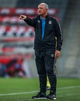 Felipão tem dúvidas para montar o Grêmio que encara o Santos