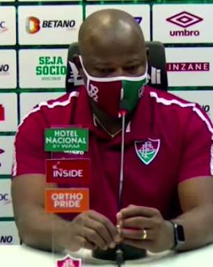 """FLUMINENSE: """"Resultado foi muito injusto"""", avalia Marcão após empate contra o Atlético-GO"""