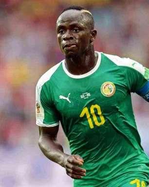 Com gol de Mané, Senegal goleia Namíbia e segue invicto nas Eliminatórias