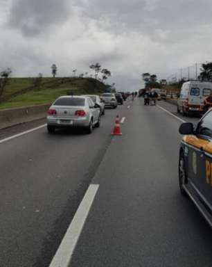 Ciclista morre em romaria após atropelamento na via Dutra