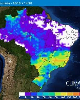 Brasília terá semana úmida e com risco de temporal