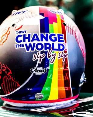 """Vettel defende diversidade e comunidade LGBTQIA+: """"Devemos celebrar as diferenças"""""""