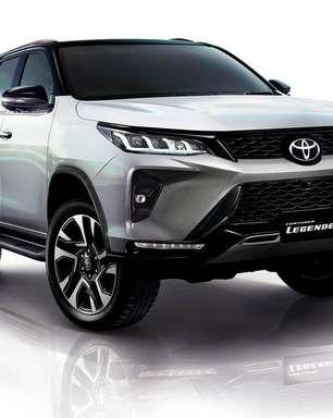 Novo Toyota SW4 Diamond chega em novembro à Argentina