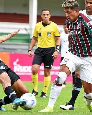 Fluminense perde para o Grêmio em Laranjeiras e é eliminado do Brasileiro sub-20