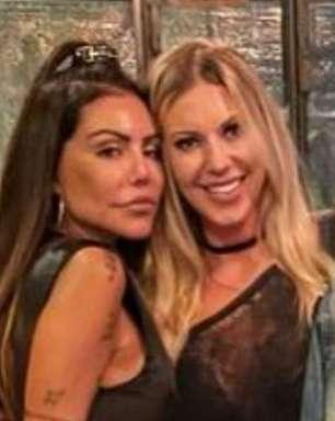 """Romance? Liziane Gutierrez e Antonela Avellaneda estão """"se conhecendo melhor"""""""