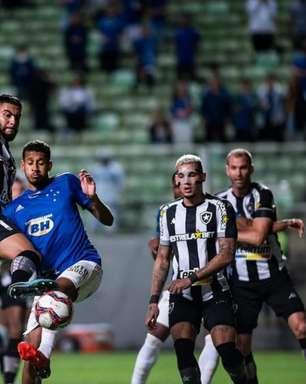 Barreto analisa empate do Botafogo contra o Cruzeiro pela Série B: 'Jogo bem disputado'