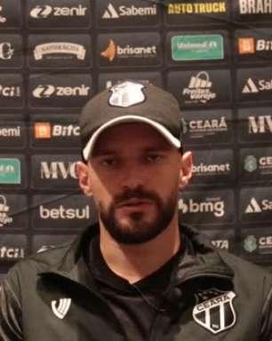 """CEARÁ: Marlon cita proximidade na tabela como fator decisivo para enfrentar o São Paulo no Morumbi: """"Será um jogo muito disputado"""""""