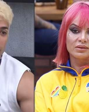 A Fazenda 2021: Tiago relembra affair com Valentina e dá cortada na peoa