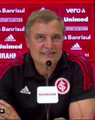 """INTERNACIONAL: Aguirre atribuiu vitória sobre o América por imposição física no segundo tempo: """"time cresceu, pressionou e fez uma segunda etapa muito boa"""""""