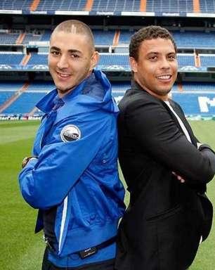Ronaldo Fenômeno diz que Benzema é o seu favorito a ganhar a Bola de Ouro: 'O melhor atacante'
