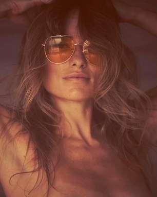 Olivia Wilde faz topless no Instagram