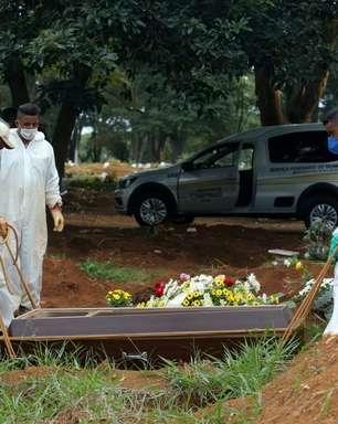 Brasil tem 14.288 casos novos e 525 novas mortes por covid