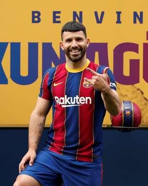 """Aguero revela sobre ida para o Barcelona: """"Não me arrependo"""""""