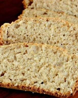 Pão integral fácil, saudável e delicioso