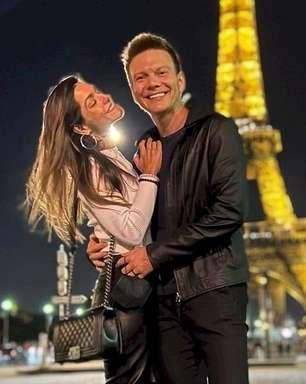 De férias na Europa, Michel Teló e Thais Fersoza afastam boatos de separação