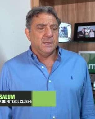"""AMÉRICA-MG: Marcus Salum comunica saída de Vagner Mancini e manda recado para torcida: """"Estamos discutindo o perfil do próximo treinador"""""""
