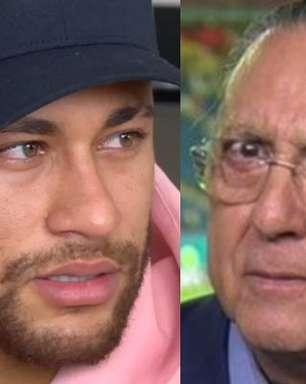 Neymar dá o que falar ao curtir post chamando Galvão Bueno de falso