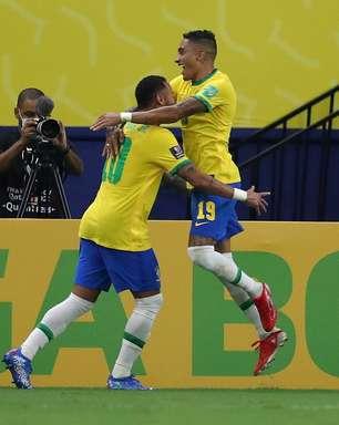 Com shows de Neymar e Raphinha, Brasil atropela Uruguai