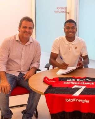 Joia da vez! Matheus França renova com o Flamengo e passa a ter multa astronômica e recorde no clube