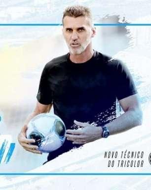 Vagner Mancini é anunciado como novo técnico do Grêmio