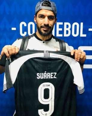 Botafogo sorteia camisa autografada por Luis Suárez, do Atlético de Madrid, para sócios