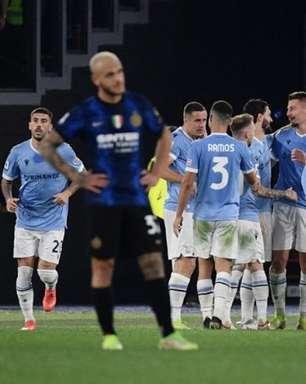 De virada, Lazio vence a Inter de Milão em casa pelo Italiano