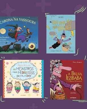 8 livros com clima de Dia das Bruxas para ler sem medo para as crianças