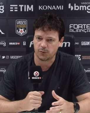 Diniz valoriza 'resposta positiva' do Vasco diante do Coritiba e alerta: 'Não podemos diminuir o ritmo'