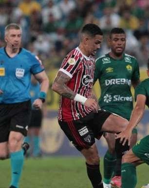 São Paulo tem lista extensa de pendurados; próximo jogo será diante do Red Bull Bragantino