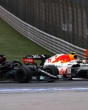 Red Bull considerou deixar Perez na pista para segurar Hamilton atrás