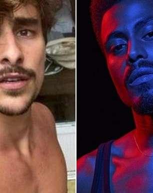 Ícaro Silva e Bruno Montaleone surgem como strippers em Verdades Secretas 2