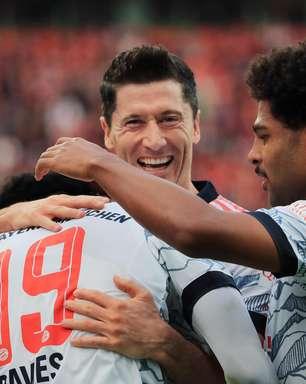Bayern de Munique faz cinco no 1º tempo e goleia Leverkusen