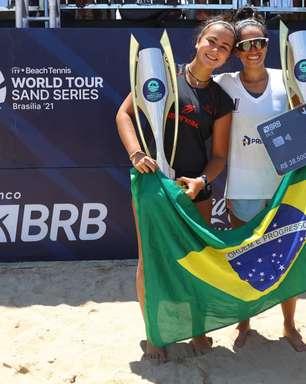Brasileiras superam italianas e conquistam o Grand Slam de Beach Tennis