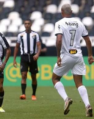 Botafogo e Atlético-MG não saem do zero no primeiro jogo das quartas no Brasileirão sub-20