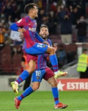 Após gol, Coutinho espanta má fase e diz que ainda quer brilhar pelo Barcelona