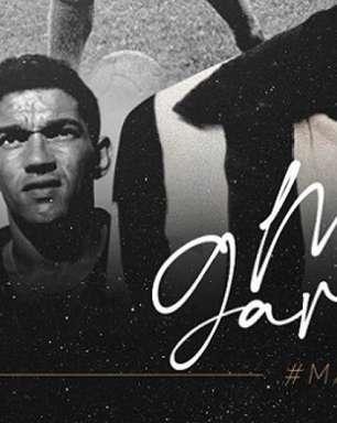 Botafogo parabeniza Garrincha e afirma: 'O maior de todos os tempos'