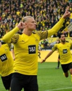 Haaland é eleito o melhor jogador da 8ª rodada da Bundesliga