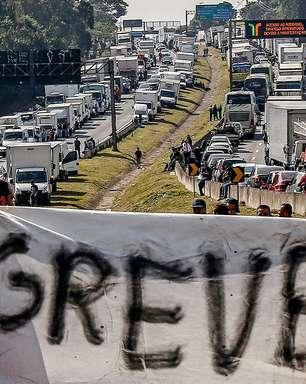 Caminhoneiros fazem novas reinvindicações e ameaçam greve em 1° de novembro