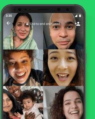 WhatsApp facilita acesso a chamadas de vídeo coletivas via chats de grupo