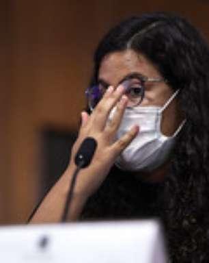 """""""Vivemos tristes"""", diz órfã da covid em depoimento à CPI"""
