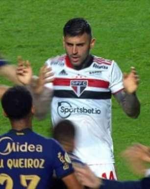 VÍDEO: Veja confusão entre jogadores no clássico São Paulo x Corinthians
