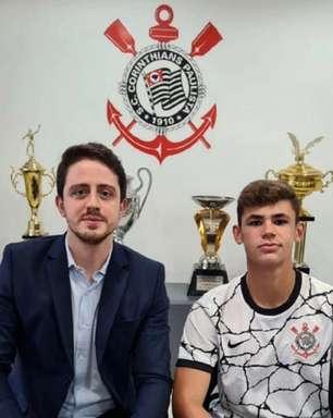 Com multa de R$ 150 milhões, volante do sub-17 do Corinthians assina contrato profissional