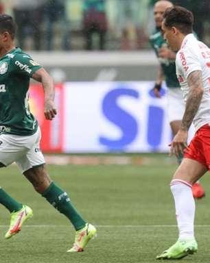 Palmeiras tem baixo índice de gols marcados em vitórias sobre o Internacional; confira histórico