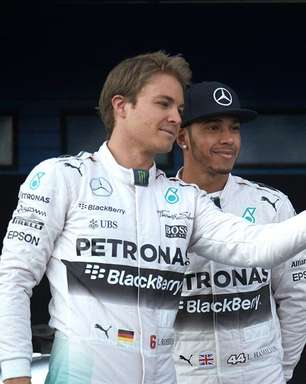 """Rosberg exalta """"talento natural incrível"""" de Hamilton: """"O melhor de todos os tempos"""""""