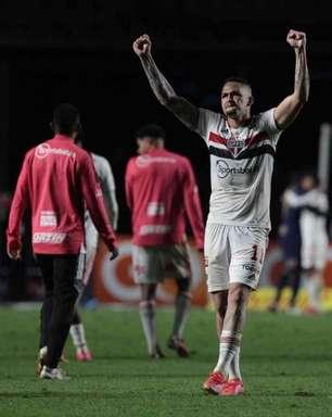 Ovacionado pela torcida do São Paulo, Luciano fala ao L!: 'Ver o Morumbi gritar meu nome foi sensacional'