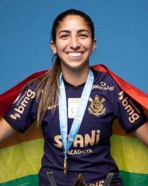 Campeã brasileira com o Corinthians, Katiuscia define comunidade LGBT+: 'Autonomia e liberdade'