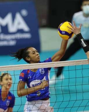 Praia Clube vence o Minas e conquista a Supercopa feminina de vôlei
