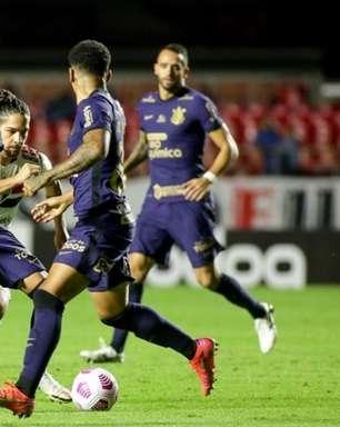 Derrotado no clássico, Corinthians repete atuação com baixa intensidade e poucas finalizações certas