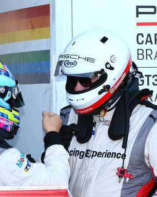 """Farah fala em """"experiência incrível"""" por dividir boxes com Barrichello: """"Grande ídolo"""""""