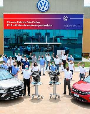 VW São Carlos atinge 12,5 milhões de motores produzidos